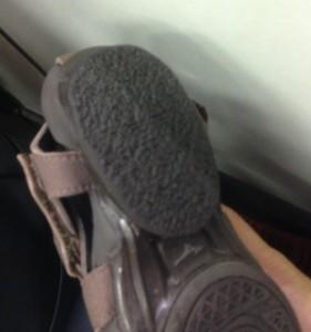 リバイブ2の生き返った靴底